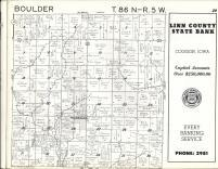 Boulder T86N-R5W, Linn County 1963